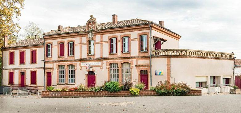 Le village d'Escatalens