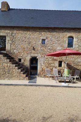"""Clévacances - Meublé 056MS000034 - """"Gîte Ty Kreiz - Le domaine du Ganquis"""" - Belz - Morbihan Bretagne Sud"""
