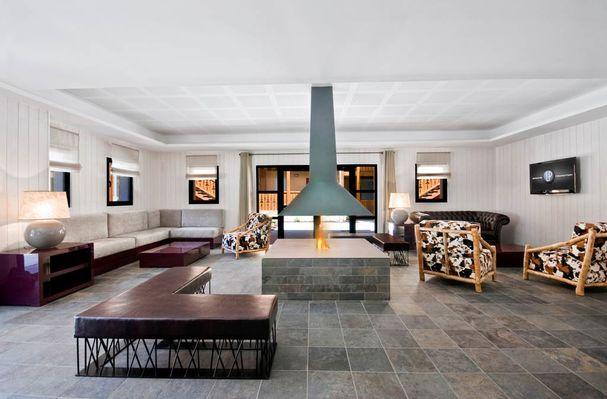 résidence lagrange confort + les chalets d'ax à ax les thermes - réception