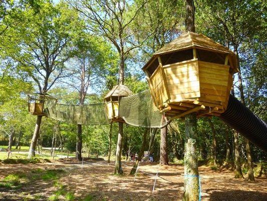 Le Parcours des cabanes P'tit-delire-Auray-Lorient-Morbihan-Bretagne-Sud