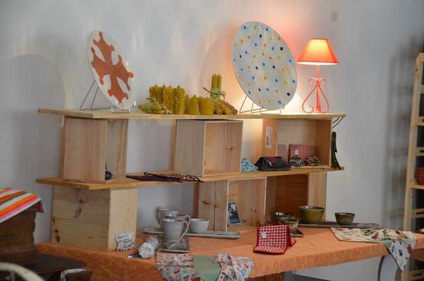 créations locales boutique éphémère Laguépie