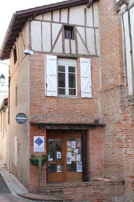 le bureau d'information touristique