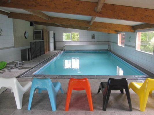 Gîte Lauberoye, 15 pers., en Argonne Ardennaise, piscine couverte chauffée - Saint-Pierremont - Ardennes