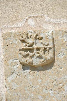 Blason sculpté Goas