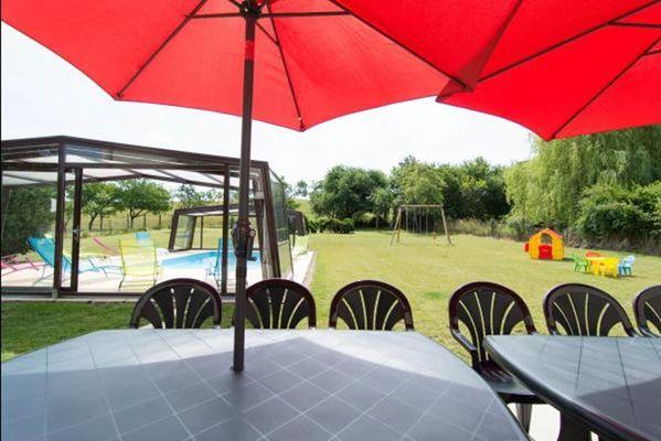 Gite de La Croisette, maison avec piscine privée chauffée, proximité Sedan, Verdun, Belgique - Malandry - Ardennes