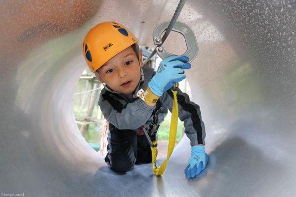 Parc Aventure FORET ADRENALINE - Carnac - KID 1 (4-6ans)