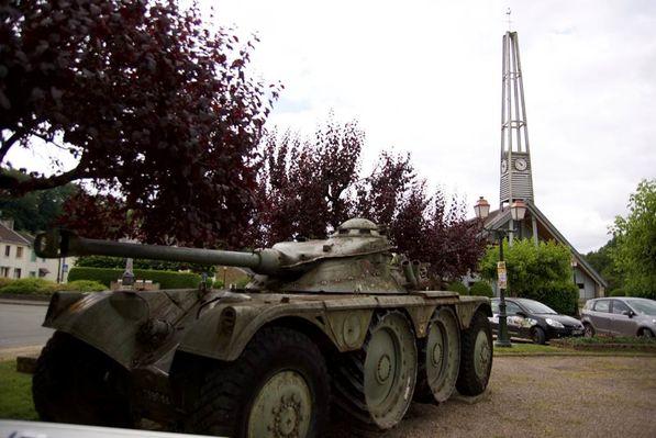 Engin Blindé de Reconnaissance - Place de Daigny