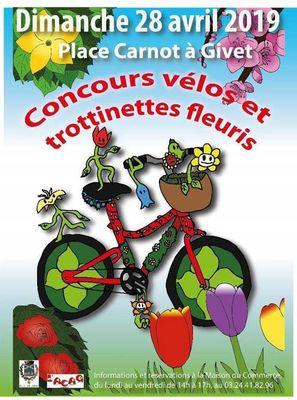 Concours vélos-trottinettes fleuris