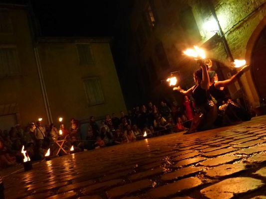 Visite nocturne aux flambeaux