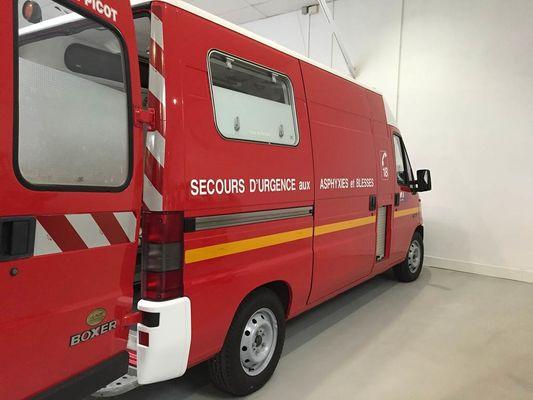 Numéro d'urgence pompiers