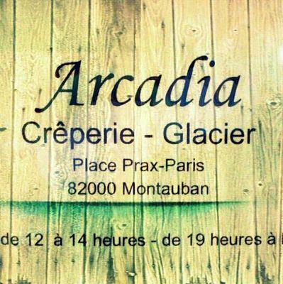 Arcadia crêperie - logo