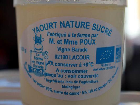 Fromagerie Vigne Barade Lacour de Visa