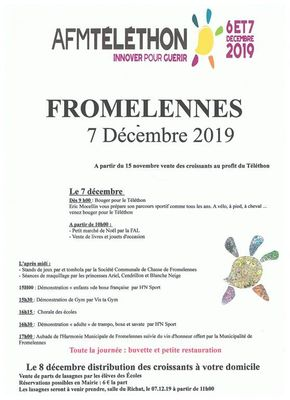 Téléthon Fromelennes