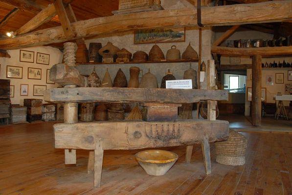 Intérieur musée du miel