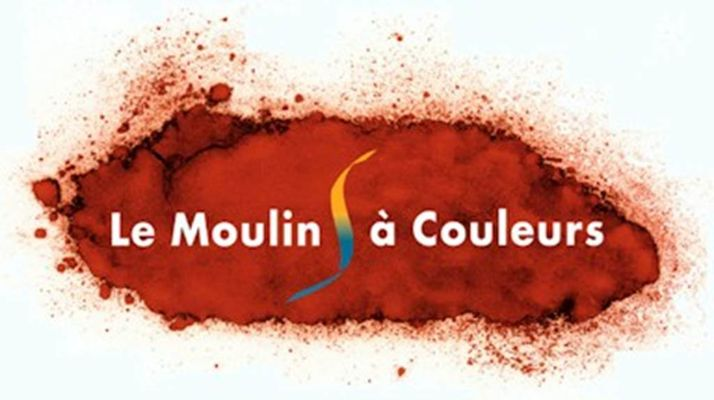 logo moulin à couleurs