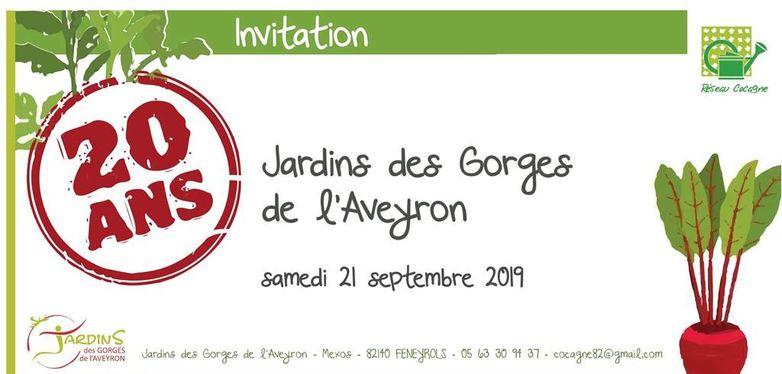Jardins des Gorges de l'Aveyron