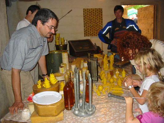 Musée miel - atelier cire