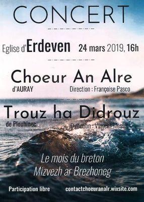 Choeur An Alré en concert