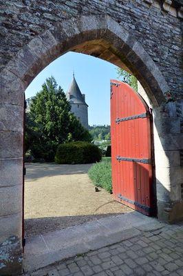 Château et parc de Josselin - Morbihan Bretagne Sud 1