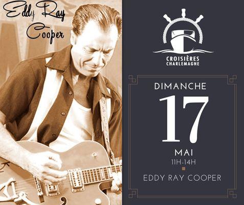 Croisière-repas avec Eddy Ray Cooper