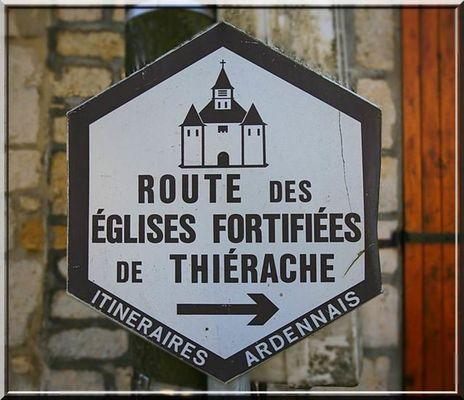 route des églises fortifiées de Thiérache