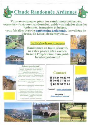 Claude Randonnée Ardennes