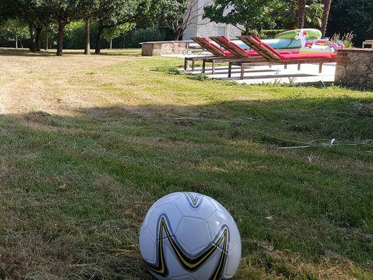 le foot, oui mais à l'ombre ;)