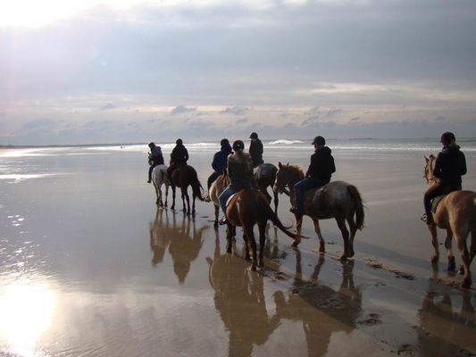 Centre équestre des Dunes ERDEVEN Morbihan Bretagne Sud