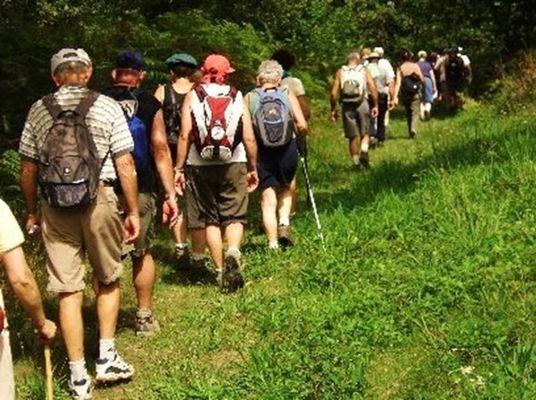 Groupe de randonnée ardennaise