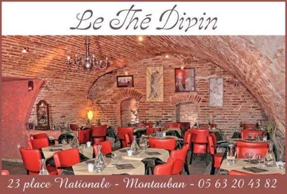 Le Thé Divin Salon de thé Montauban Tarn-et-Garonne