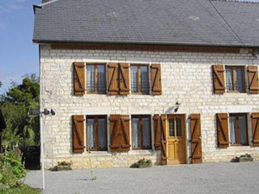 Gîte Chez Clémentine - façade de la maison