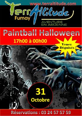 Paintball Halloween