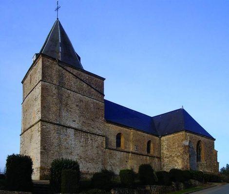 Eglise Saint-Martin de Remilly les pothées