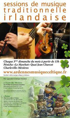sessions musique irlandaise