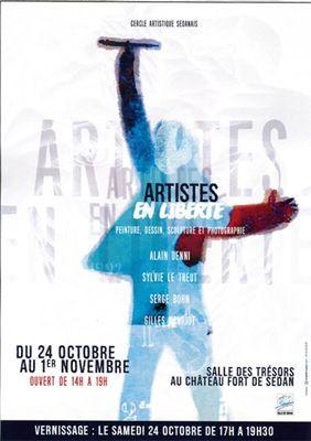 """Exposition """"Artistes en liberté"""""""