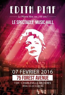 spectacle piaf