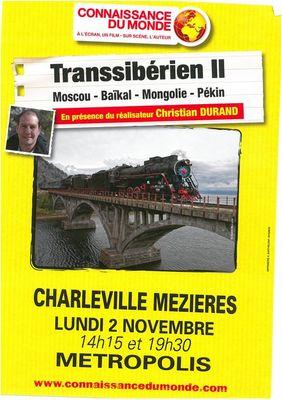 Connaissance du Monde - Le Transsibérien II