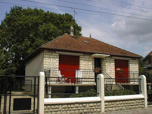 Maison avec 2 chambres, terrasse et jardin entre Charleville-Mézières et Reims - Blanzy-la-Salonnaise - Ardennes