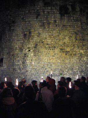 Visite guidée de Mézières aux flambeaux d'Haloween