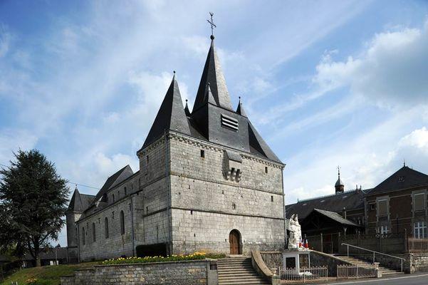 église fortifiée