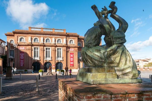 Sapho - Antoine Bourdelle - Sculpture Montauban Tarn-et-Garonne