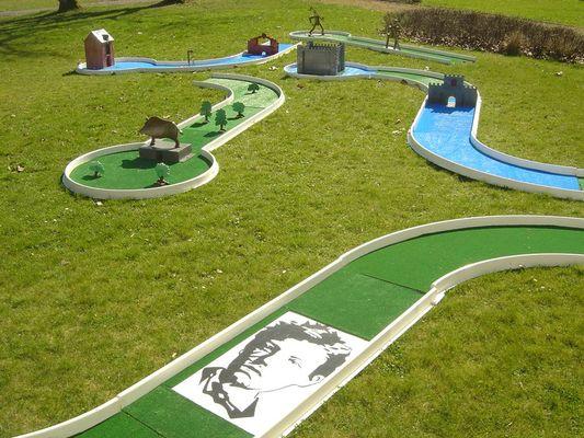 Base de loisirs de l'ASPSCA - le mini-golf