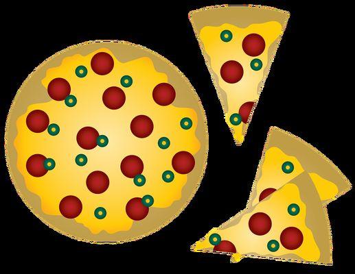 Camion à pizza