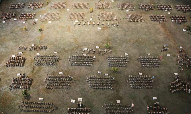 Diorama bataille de Rocroy