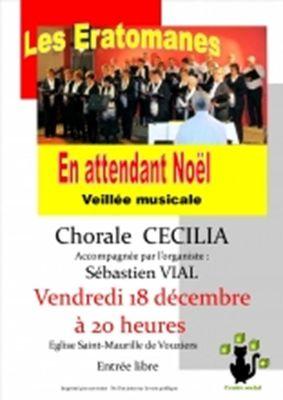 Concert des Eratomanes avec la Chorale Cecilia