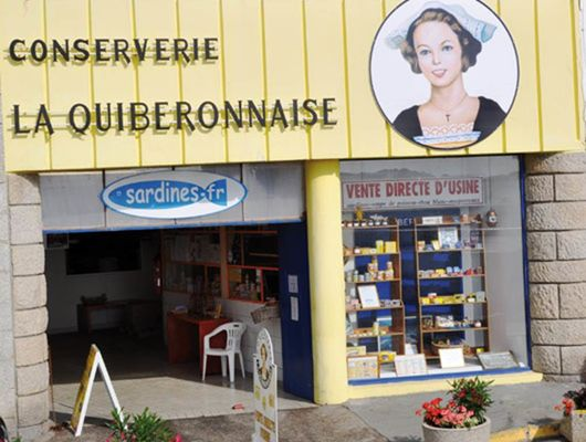 Conserverie La Quiberonnaise -Quiberon
