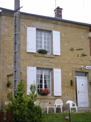 Façade - Gîte - PONSIN Luc - La Maison d'Aline - MS001