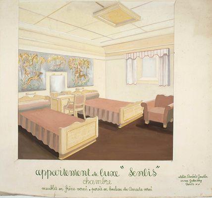 Peintre Germaine Darbois-Gaudin