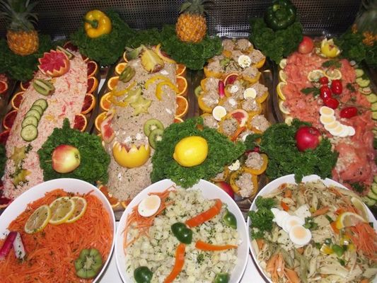 Le Grill-on-Vert - buffet