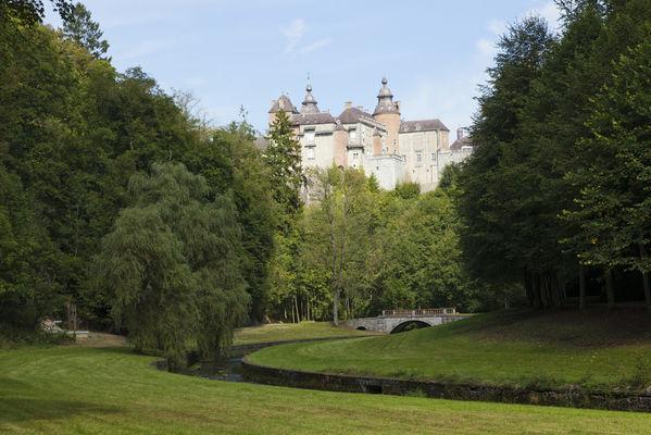 Domaine du Château de Modave - Modave - vue extérieure